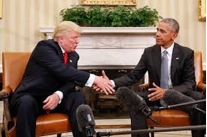 President Elect D. Trump and President Obama