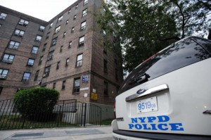 NYPD in NYCHA