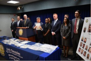 Operation Spanned New York and Arizona; Approximately 10 Kilograms of Narcotics and 17 Guns Recovered