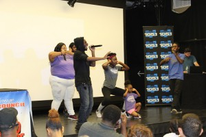 Impact Repertory Theater's Rap Group