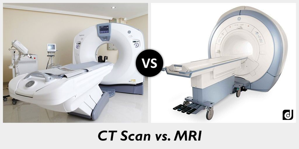 CT Scan Vs MRI