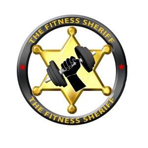 Fitness Sheriff logo star saved