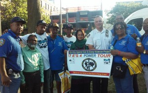 HHSYC and NYPD attend National Night Out Against Crime